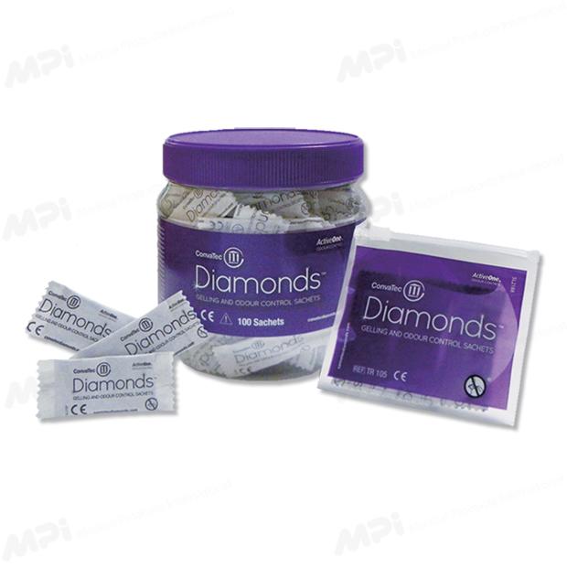 ダイヤモンド 消臭・吸収ゲル化剤